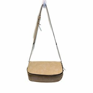 Phase 3 Crossbody Bag, Cream Color, Medium Size